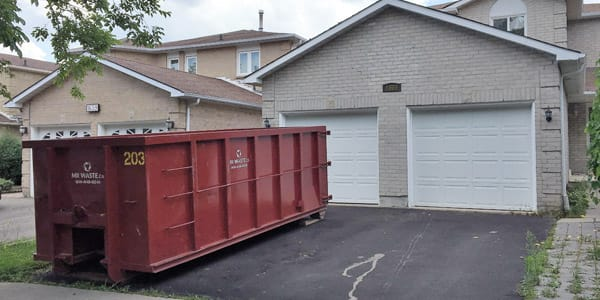 getting dumpsters for rental