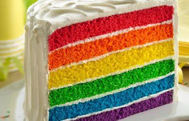 rainbow cake Singapore